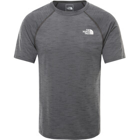 The North Face Actice Trail Jacquard Longsleeve Heren, tnf dark grey heather